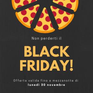 SfidaPizza corso promozione Black Friday Claudia Fiore