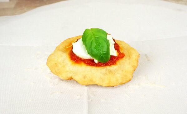Pizzelle Napoletane Fritte Pizza Fritta
